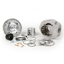 Cilindro Malossi MHR 177cc, carrera 57mm, 3 transfers, salida de 2 piezas, Vespa PX 125/150, Cosa 125/150