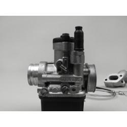 Kit Carburador Malossi 2 agujeros, 25mm Dellorto PHBL, distribuidor giratorio Vespa PKS