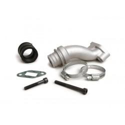 Colector de admision Malossi, 2 agujeros, válvula rotativa,Vespa Primavera conexión 28,5mm