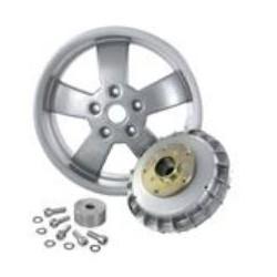 Kit de conversión tambor de freno trasero SERIE PRO, modificado para montar llanta 12 pulgadas GTS en Vespa Largeframe