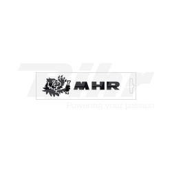 Pegatinas Malossi MHR Negro 13 cm