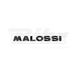 Pegatinas Malossi Negro 14 cm