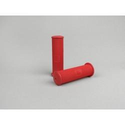 Puños Rojo Vespa retro 21mm, Vespa 150/160 Sprint