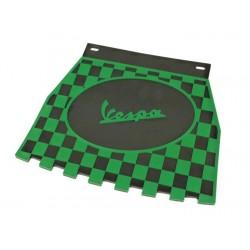 Faldón cuadros Vespa negro,verde