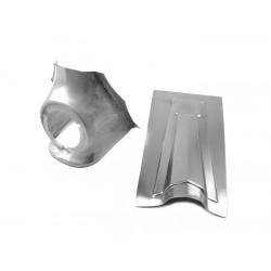 Chapa reparación claxón cubredirección claxón diametro 75mm